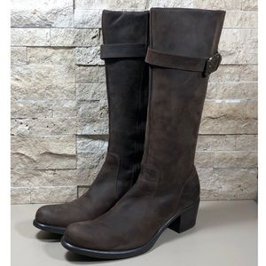 Cole Haan Boots Women's Riding Leather Brown